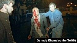 Трагические события на пересечении Садового кольца и Нового Арбата в Москве, август 1991 года