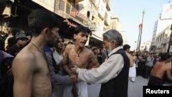 په پاکستان کې د عاشورا مراسم.