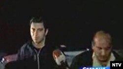 Выйдя из СИЗО, Окруашвили не сказал журналистам ни слова