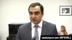 Заместитель министра энергетических инфраструктур и природных ресурсов Армении Айк Арутюнян (архив)
