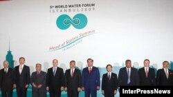 سران کشورهای شرکتکننده در مجمع جهانی آب در استانبول ترکیه