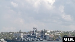 Ракетний крейсер Чорноморського флоту РФ «Москва», 2008 р.