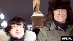 Валерия Новодворская и Константин Боровой