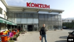 Prodavnica Konzum dio je posrnulog koncerna Agrokor