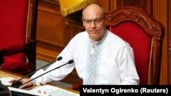 Parlament spikeri Andriy Parubiy