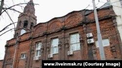 Никольский храм на Долгоруковской улице