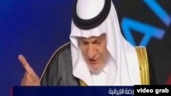 سخنرانی ترکی الفیصل در جمع مجاهدین خلق در پاریس