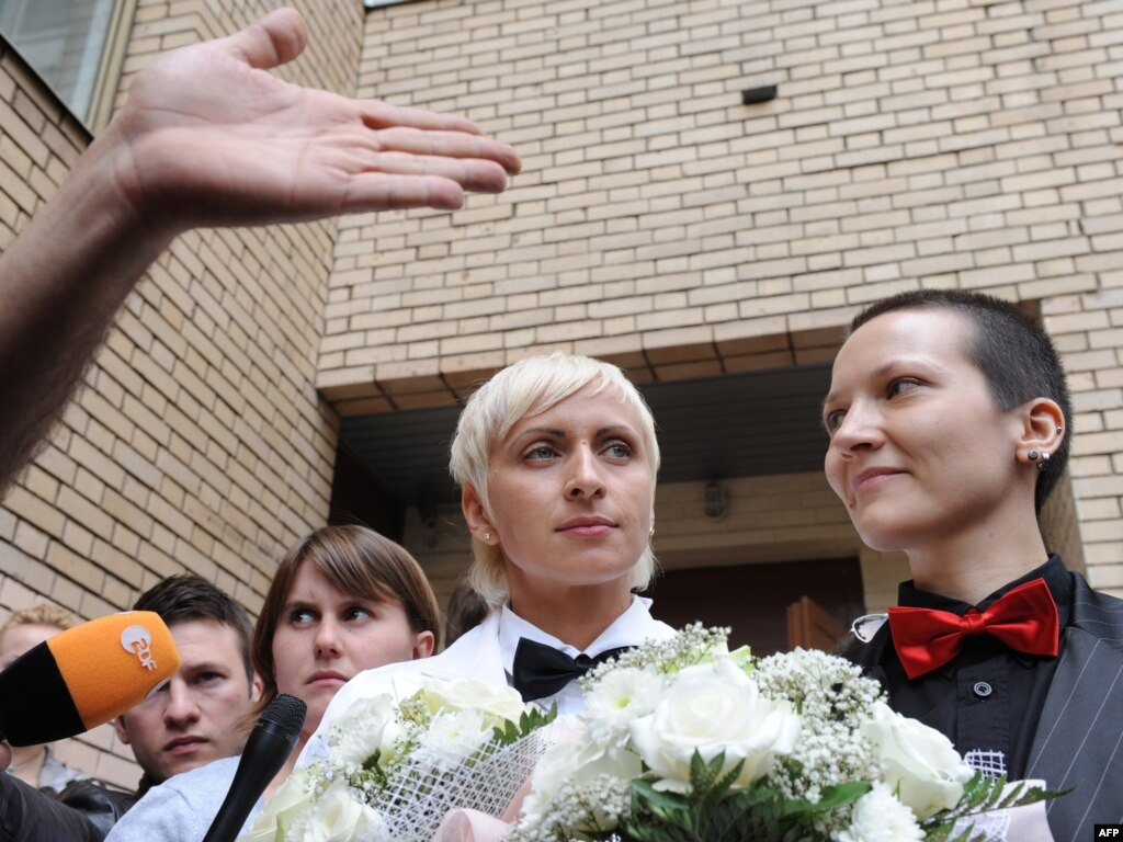 Marriage Russian Lesbian 43