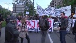 Vazhdojnë protestat kundër Vuçiqit
