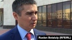 Заместитель акима Алматинского района Астаны Аскар Есилов.