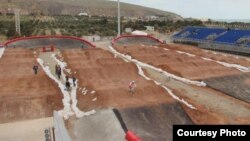 elosiped İdmanı Federasiyasının BMX stadionu