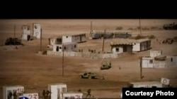 تصویری که در این فیلم منتسب به پایگاه اسرائیلی آموزش این افراد است.