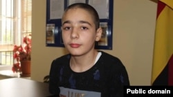 14-летний Айк Арутюнян (фотография из Facebook)