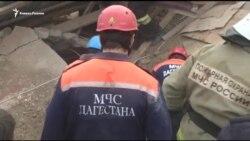 Взрыв газа в Махачкале: мать с дочерью погибли