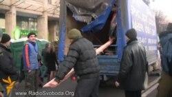 Транспорту стало важко діставатися до Євромайдану