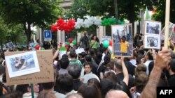 تظاهرات ۳۱ خرداد ایرانیان در پاریس