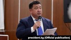 Министр сельского хозяйства Нурбек Мурашев.