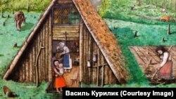 Малюнок художника Василя Курилика (1927–1977)
