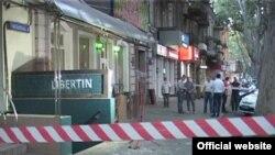 Odessa, patlav yeri - «Libertin» barı