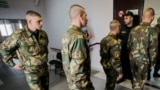 Belarus - The trial against 3 soldiers (Yauhen Baranouski, Anton Vyazhevich, Yahor Skuratovich) in case of the death of a soldier Alexander Korzhych. Minsk, 8Aug2018