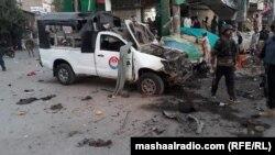 بلوچستان: د پولیس یو ګاډی هم په چادونه کې ویجاړ شوی