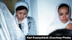 Казахская свадьба в Иране. Фото сделано в 1998 году.