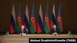 Встреча президентов России и Азербайджана в Баку, 27 сентября 2018 г․