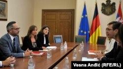 Razgovori u Beogradu: Mihael Rot i Aleksandar Vučić
