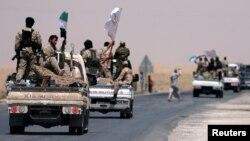 ABŞ-ın dəstəklədiyi Suriya Demokratik Qüvvələri (SDF)