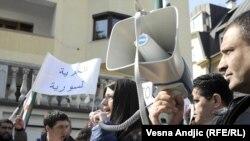 Beograd: Protest protiv sirijskog režima