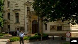 Здание правительства Чехии в Праге. В нем тоже прошли обыски
