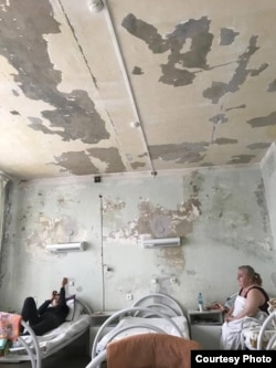 Палата 20-й городской больницы. Красноярск. 2019 г.
