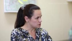 Тихановська: «Влада Білорусі боїться людей» (відео)