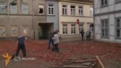 Германия шимолидаги шаҳарчага торнадо ëпирилди