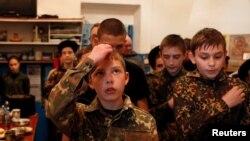 Учащиеся военной школы имени генерала Ермолова в России. Иллюстративное фото.
