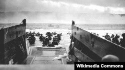 Высадка в Нормандии. 1944