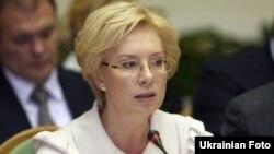 Людмила Денисова, министр социальной политики Украины.