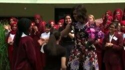 """Мишель Обама и ее инициатива """"Позвольте девочкам учиться"""""""