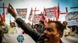 اسلام اباد کې د يوه عيسوي خاوند او مېرمنې سوځولو پر ضد مظاهره (۲۰۱۴)