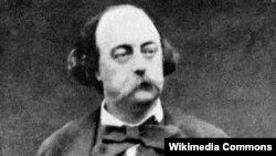 Fransız yazıçısı Gustave Flaubert.