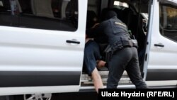 Задержание в Минске