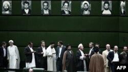 Իրան - Խորհրդարանականները քվեարկում են կառավարության հարցով, Թեհրան, 15-ը օգոստոսի, 2013թ․