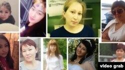 Москвада өрттөн набыт болгон кыргызстандык кыз-келиндер.