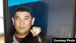 Гражданский активист Багдат Бактыбаев.