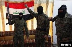 Иракские боевики-исламисты, отправляющиеся на войну в Сирию