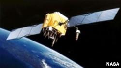 Satelitul GPS văzut de un artist
