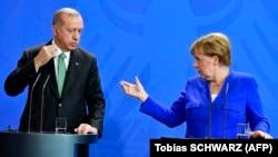 Ердоган и Меркел