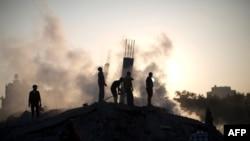 یکی از اهداف حمله اسرائیل به غزه
