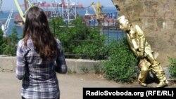 Пам'ятник Сталіну в Одесі, 7 травня 2012 року