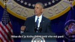 Obama numëron arritjet në fjalimin lamtumirës